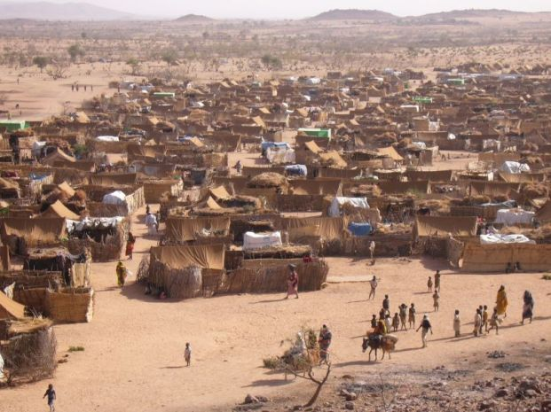Iridimi Refugee Camp Near Iriba