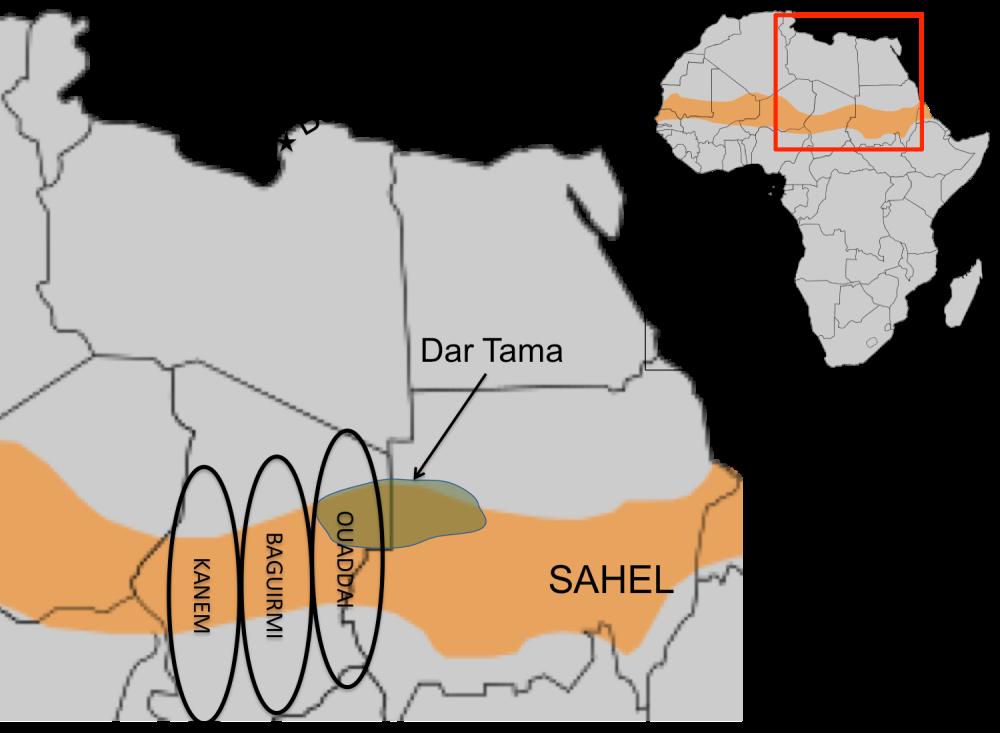 Sahel Ouaddai Chad Dar Tama