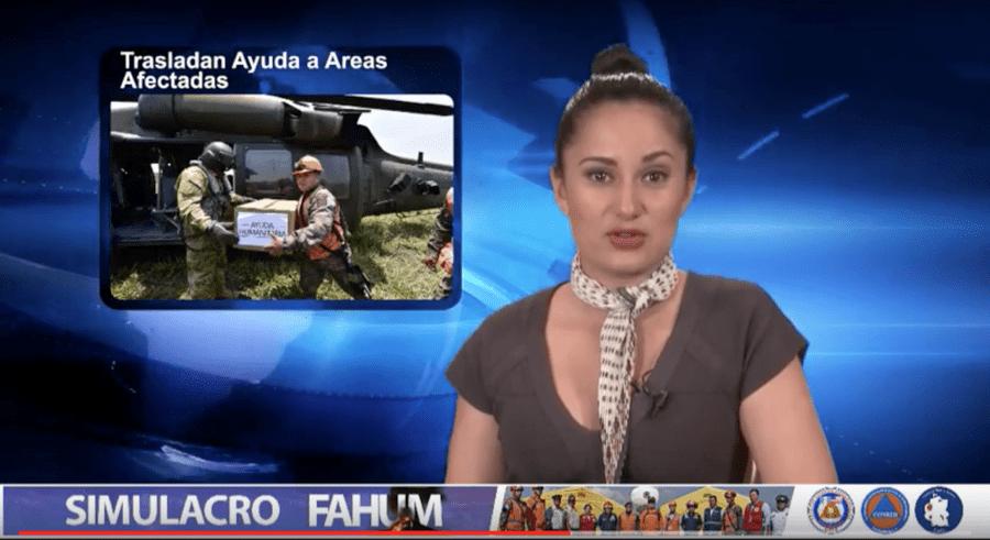 CONRED Guatemala newscast FAHUM